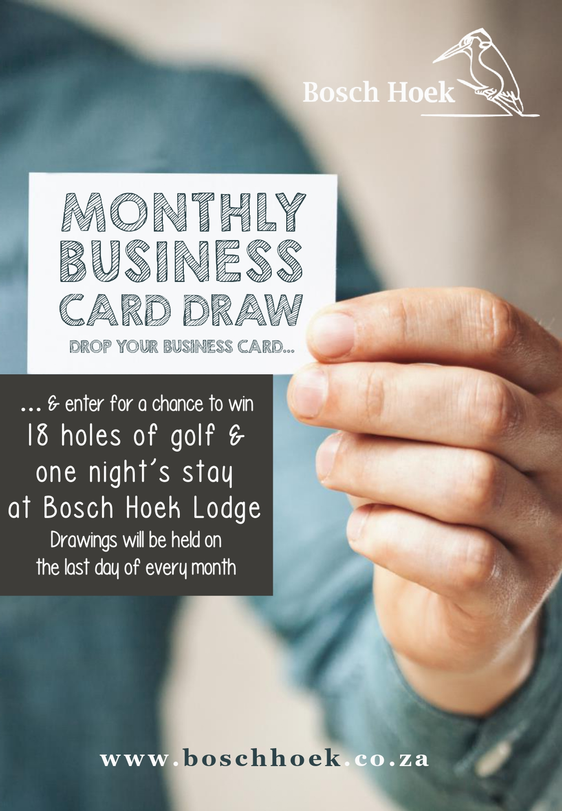 2019 Business Card Draw - Poster