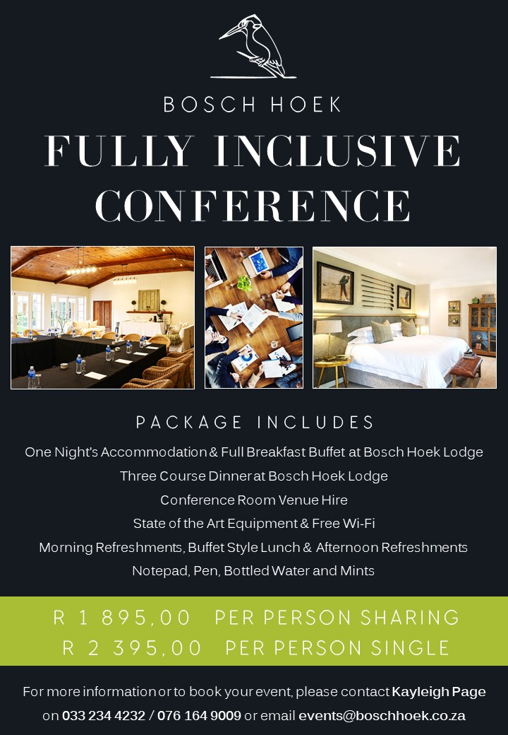 2020 2021 Fully Inclusive Conference Advert